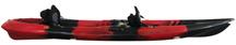 Black cherry Torpedo Kayak side view