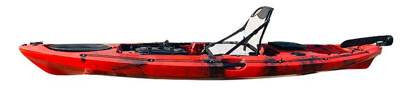 angler pro kayak side view